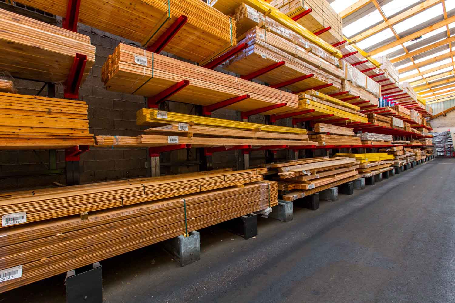 Plateforme bois Henry Timber